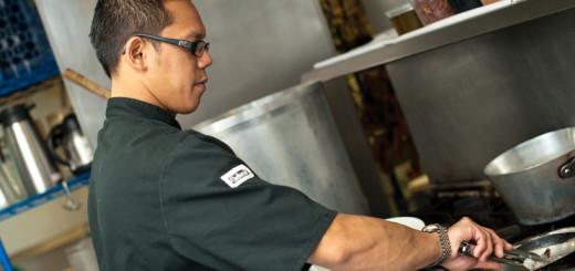 Chef Pok. Photos By Lori Douglas Photography