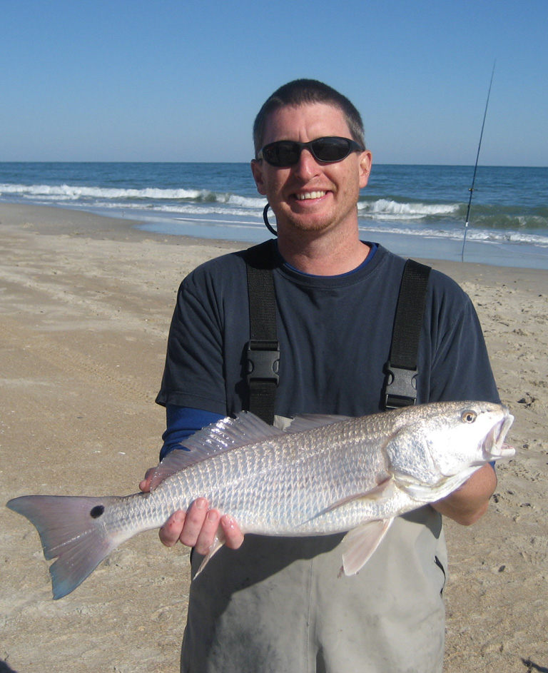 Summer fishing in the outer banks north beach sun for Fishing spots in nc