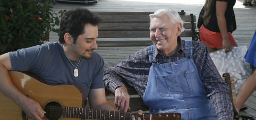 Brad Paisley and Andy Griffith in Waiting for a Woman (2008).