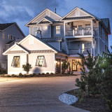 First home completed by SAGA Construction at Pine Island Reserve in Corolla.