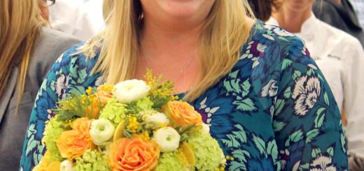 $100,000 wedding giveaway winner, Laruen Fenner.