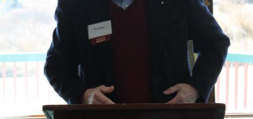 Keynote speaker, Ray White.