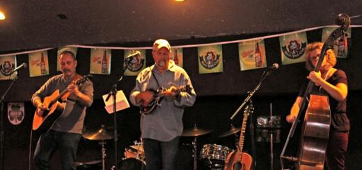 The Jug Tucker Band (LtoR): Ed Gee, Mark Criminger, Sherri Criminger.