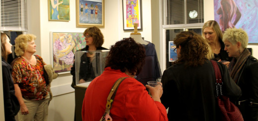 At the Dare County Arts Council gallery show.