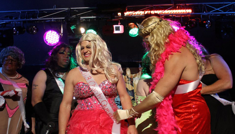 Congratulations to Philonce' the 2013 Charity Queen of the Outer Banks Womanless Beauty Pageant.
