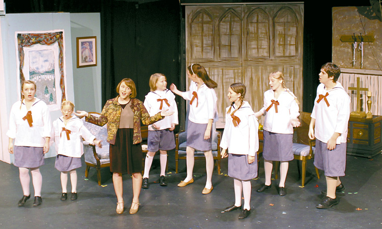 "Stage Left Theatre (MHS) production of ""Sound of Music""."