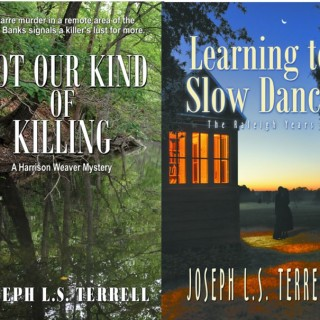 Joseph Terrell's two novels for 2013.