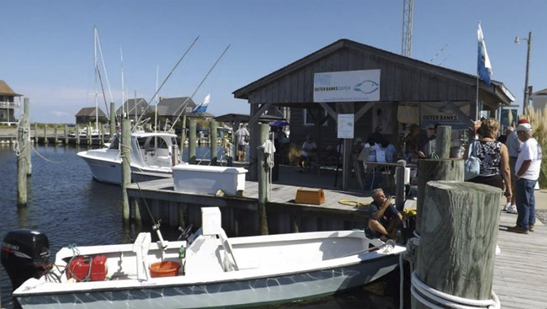 Day at the Docks. A celebration of a way of life. Hatteras Village, September 21.