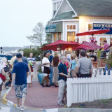 First Friday in downtown Manteo. Photo: Amy Dixon Photography