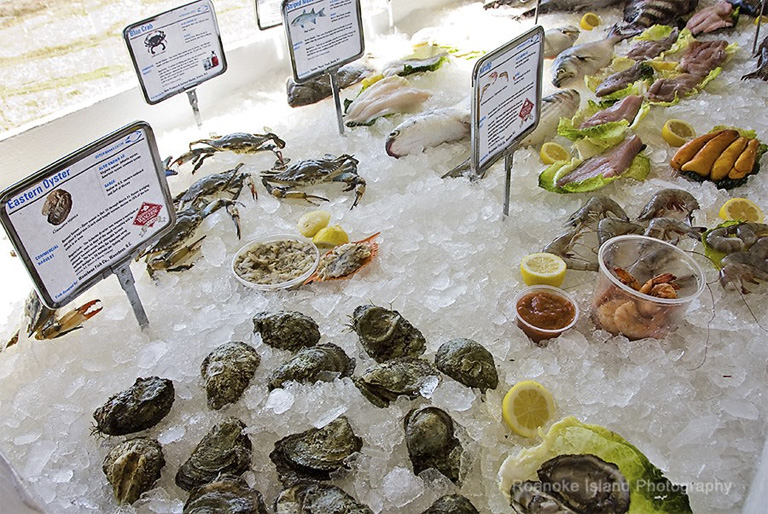 It's all fresh and it's all from local waters at the 2nd Annual Outer Banks Seafood Festival.