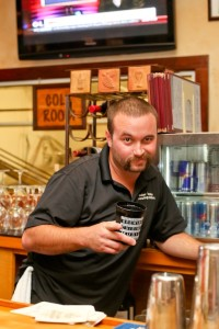 Will Holman at the Outer Banks Brewing Station.