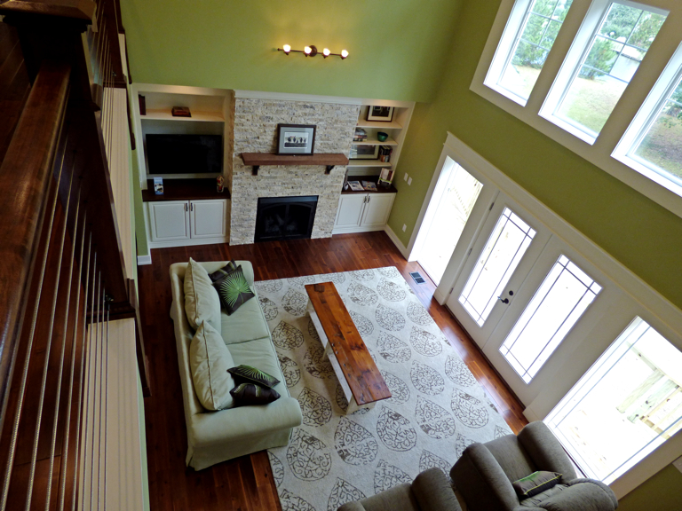 Across the Board home interior, Southern Shores.