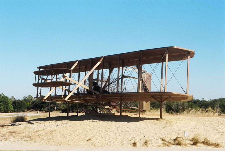 110th Anniversary of the Wright Brothers first flight, December 17, 2013.