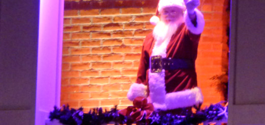 Santa Clause at the 2013 Manteo tree lighting.