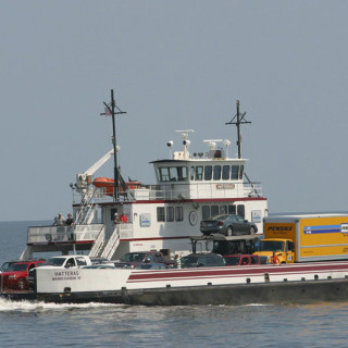 NC Ferry on Pamlico Sound.