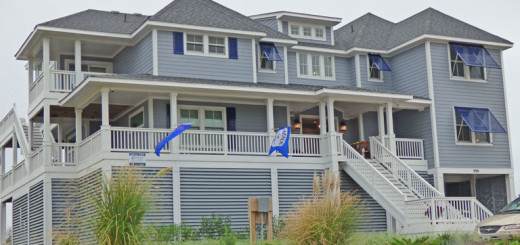 SAGA Construction home during the ever more popular Outer Banks Parade of Homes.