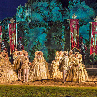 The Queen's Court at the Lost Colony.