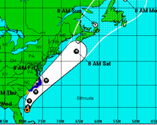As Arthur Approaches the Outer Banks