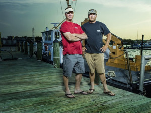 Fishin' Frenzy crew, Captain Greg Mayer and First Mate Nick Gowitzka.