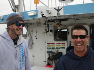 The Pin Wheel Crew, Captain Tyler McLaughlin and Co-Captain Paul Hebert.