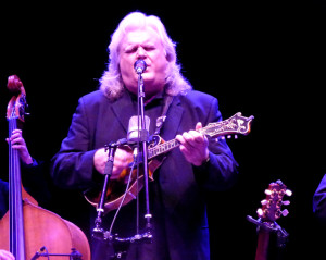 Ricky Skaggs in performance Saturday night at Roanoke Island Festival Park.