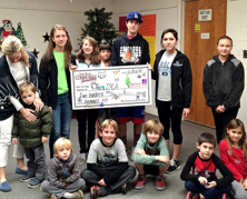 Circle of Giving Gives to the SPCA