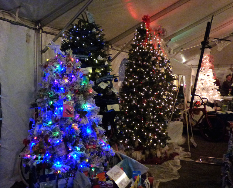 Seemed like there were more trees than ever at the Festival of Trees.