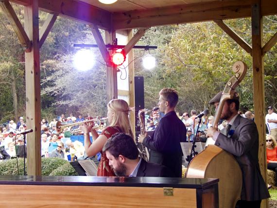 Bria Skonberg with Evan Arntzen on sax;  Dalton Ridenhour piano; Sean Cronin, bass.