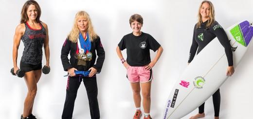 women athletes insert