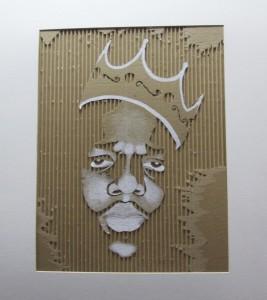 "Kyle Beckner's ""Cardboard Cutout""."