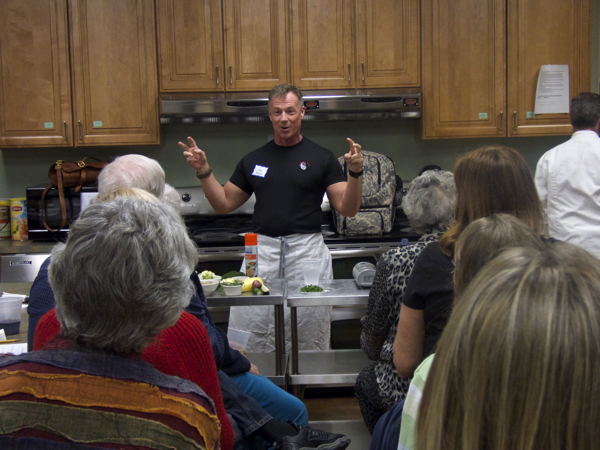 Chef Wes Stepp talking about Tastefully Fit.