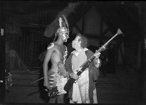 Carl Kasell as Chief Wanchese in 1952.