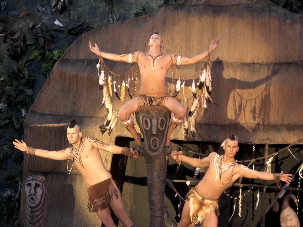 Opening dance sequence from The Lost Colony.
