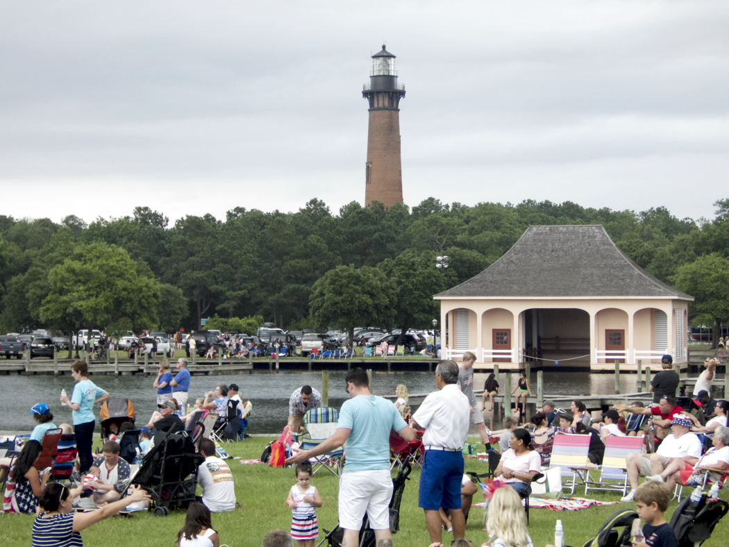 A quintessentially all-American celebration at the Whalehead Club.