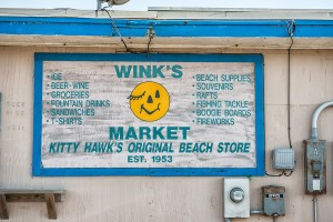Wink's iconic logo has been greeting customers for decades.