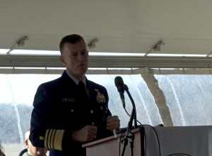 Keynote speaker Admiral Zukunft, Commandant US Coast Guard,