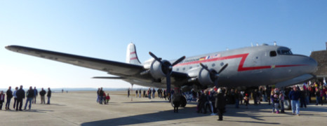 The Candy Bomber Visits the Outer Banks