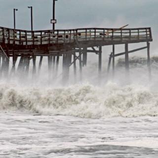 Avalon Pier, 10/30/2012.