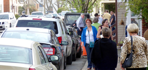 First Friday on Budleigh Street, downtown Manteo