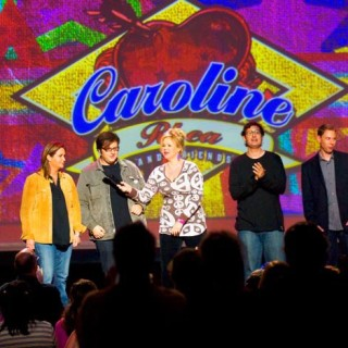 Ryan Hamilton appearing on the Caroline Rhea Show.
