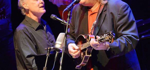 Ricky Skaggs will be headlining the 3rd Annual Outer Banks Bluegrass Festival Saturday, September 27. Pictured here performing with Bruce Hornsby.