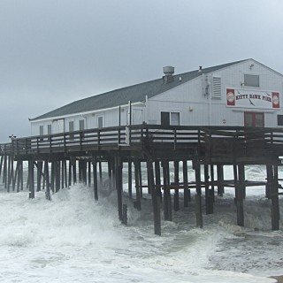 Kitty Hawk Pier.